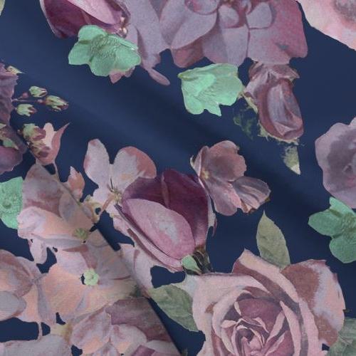Antique Floral - Lavender -