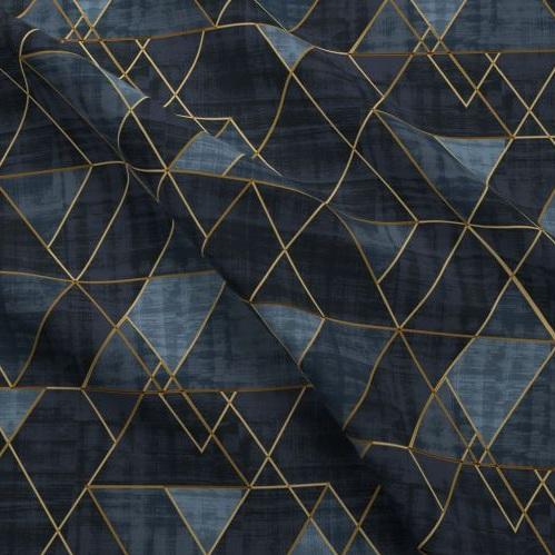Indigo Gold Triangle -