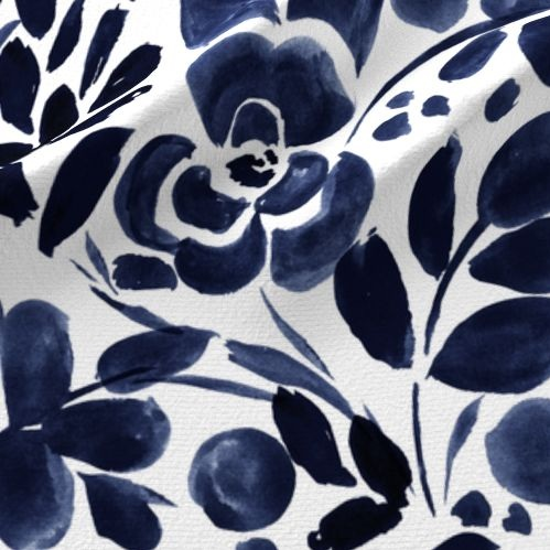 Navy Floral -