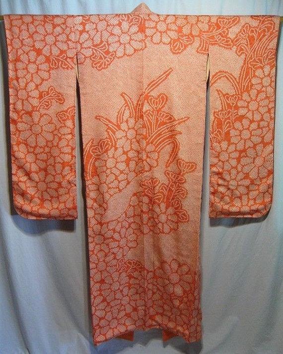 You can purchase this vintage kimono for $550- from  KyotoKimono