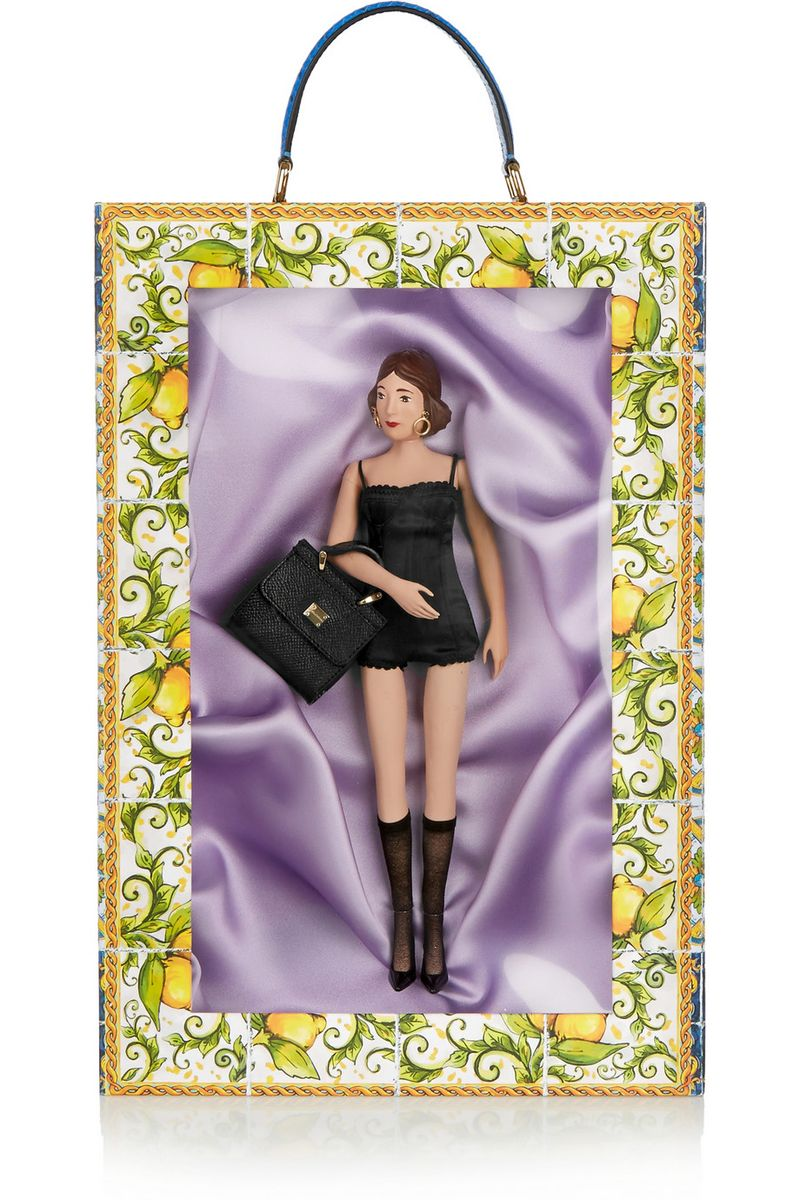 Dolce & Gabbana Concetta doll and box set.  You can purchase this new set for $2,875- from  Net-A-Porter