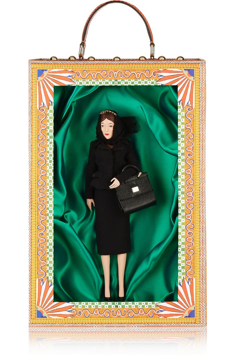 Dolce & Gabbana Addolorata doll and box set.  You can purchase this new set for $2,875- from  Net-A-Porter