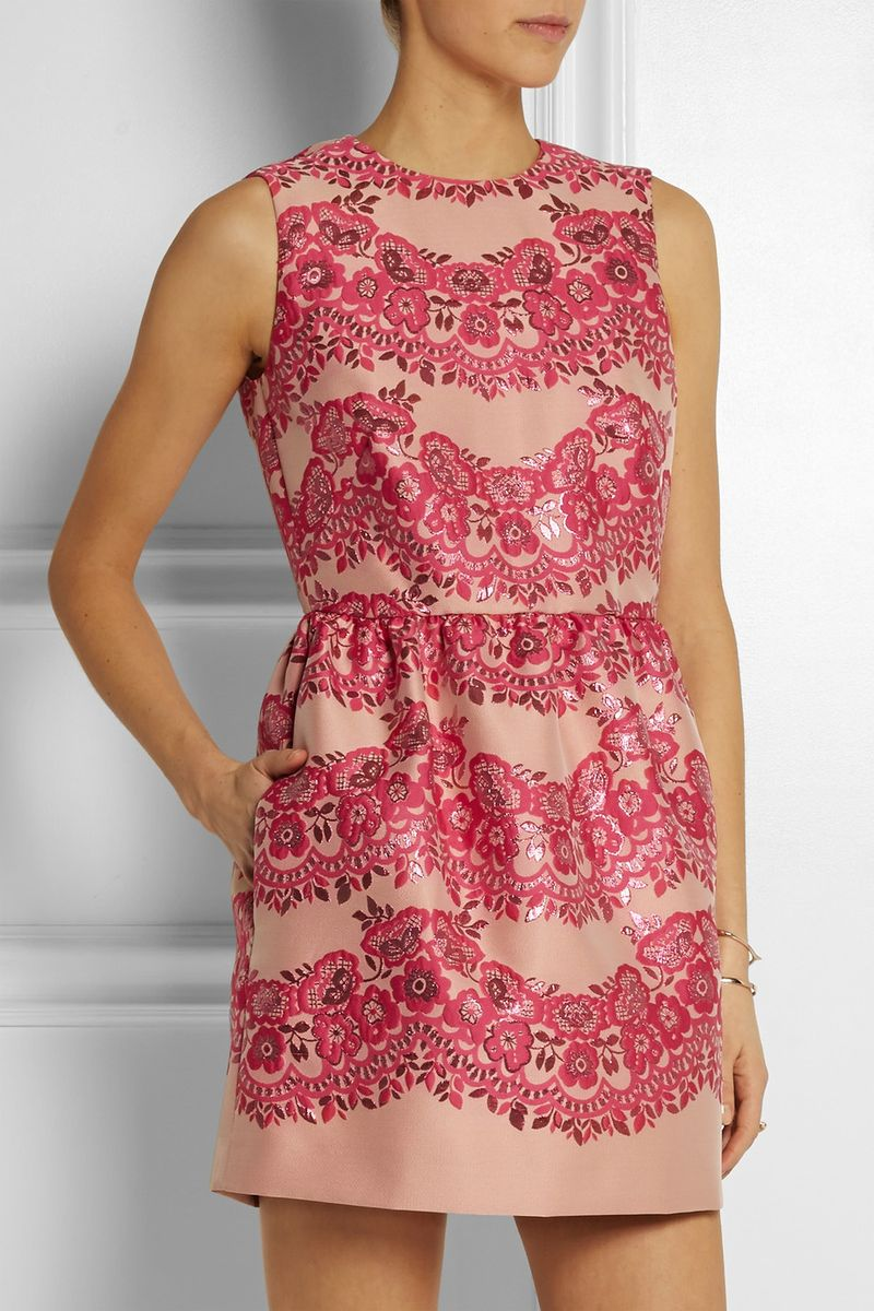 You can purchase this new REDValentino dress for $895- from  Net-A-Porter