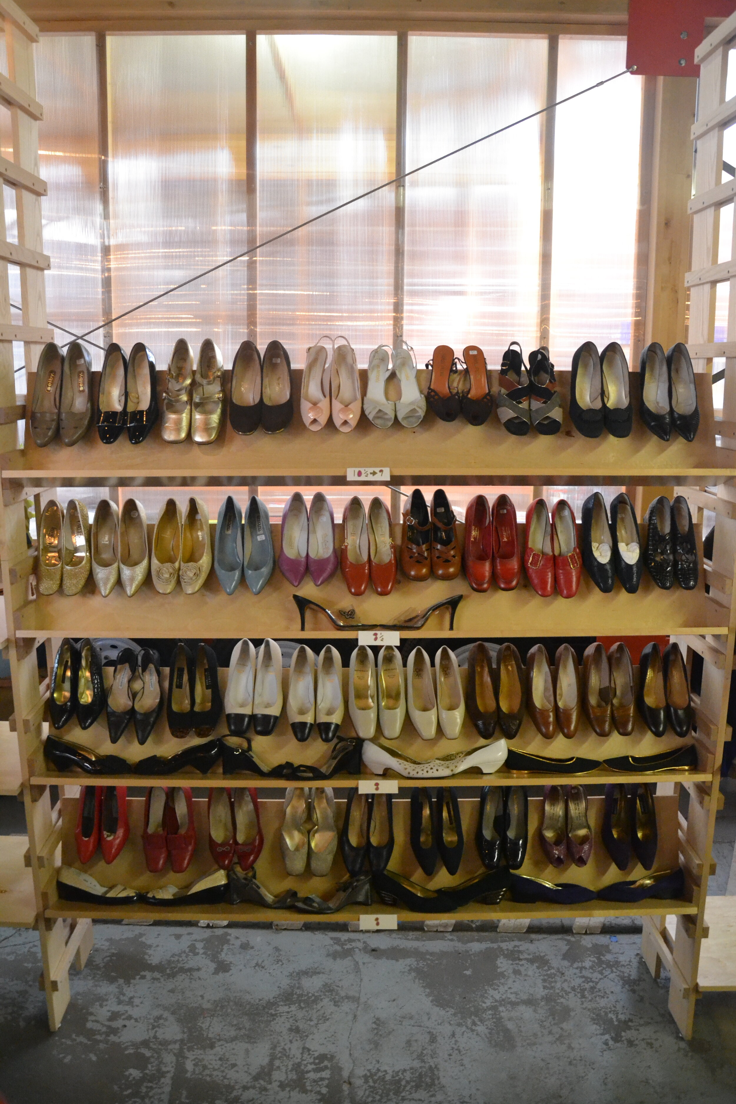 Vintage Shoes in Sizes 8 - 10 1/2. Only $20- per pair at September's Pop Up