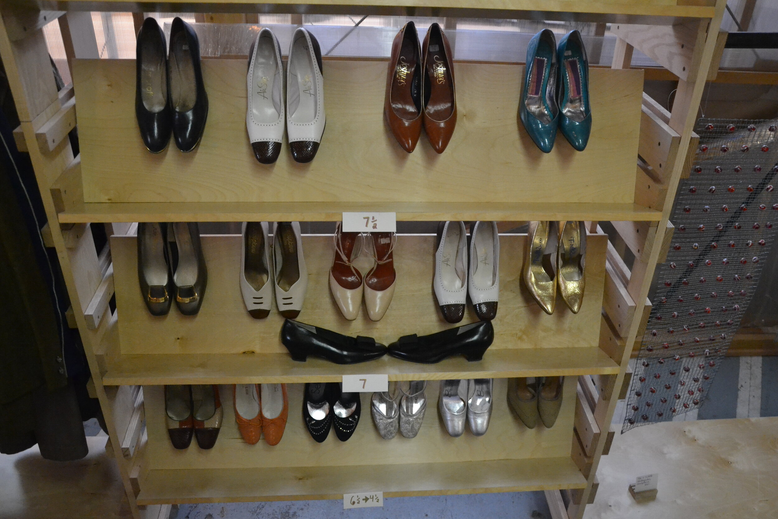 Vintage Shoes in Sizes 4 1/2 - 7 1/2. Only $20- per pair at September's Pop Up