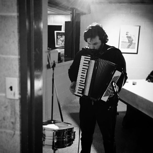 #maninblack playing #accordion #indiemusic #ambient