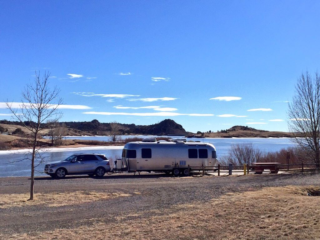 Not surprisingly, we had Tumbleweeds campground all to ourselves