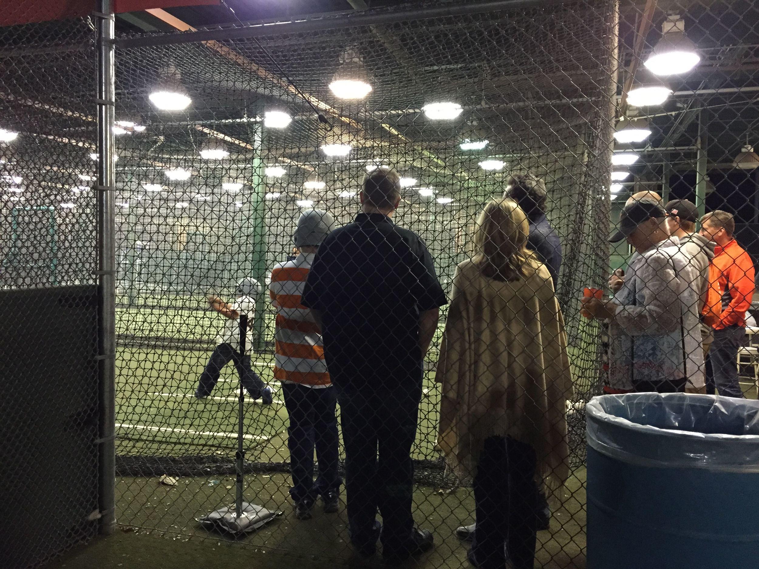 Batting practice anyone?