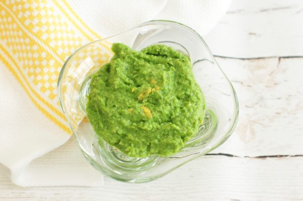 3 Ingredient Minty Pea Dip by Jessica Levinson