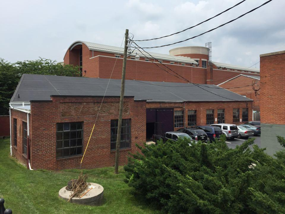 An outside look at the future site of McClintock Distilling