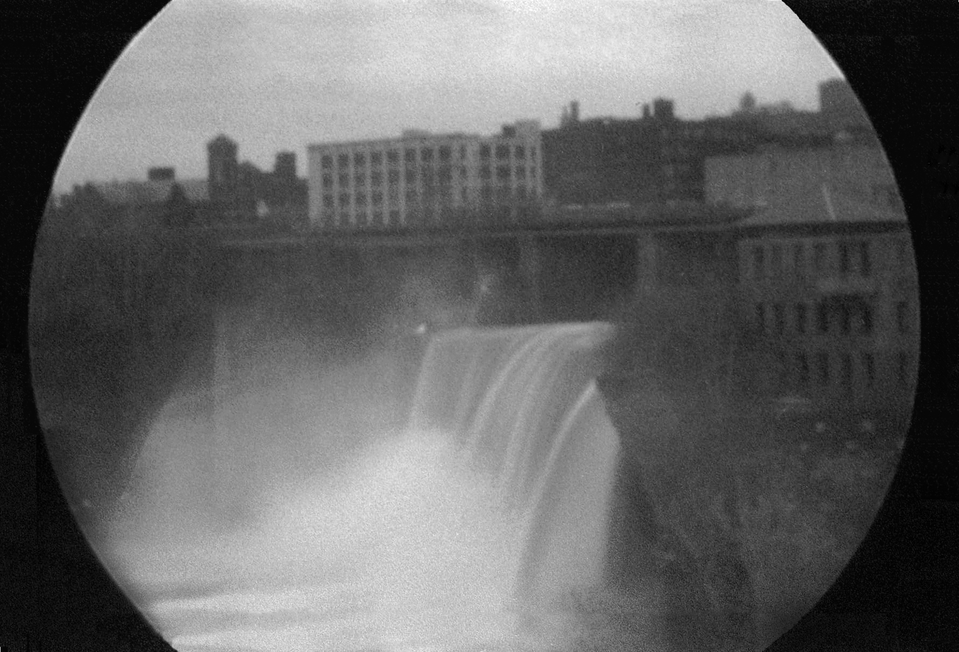 High Falls, Genesee River, Rochester, NY , 2013, Libby + Olshefsky