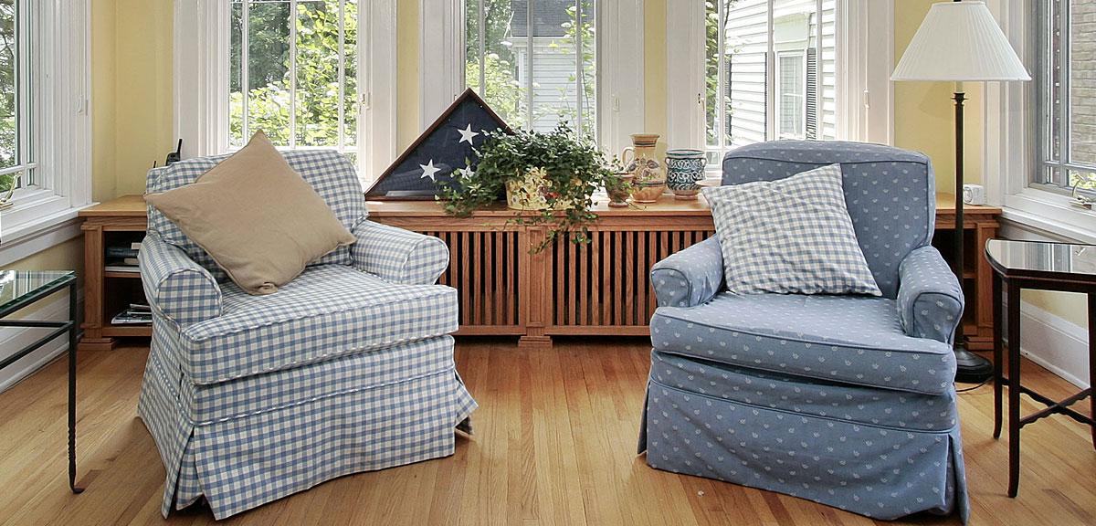Custom Slipcovers for Furniture - NYC, Long Island, Westchester, Astoria