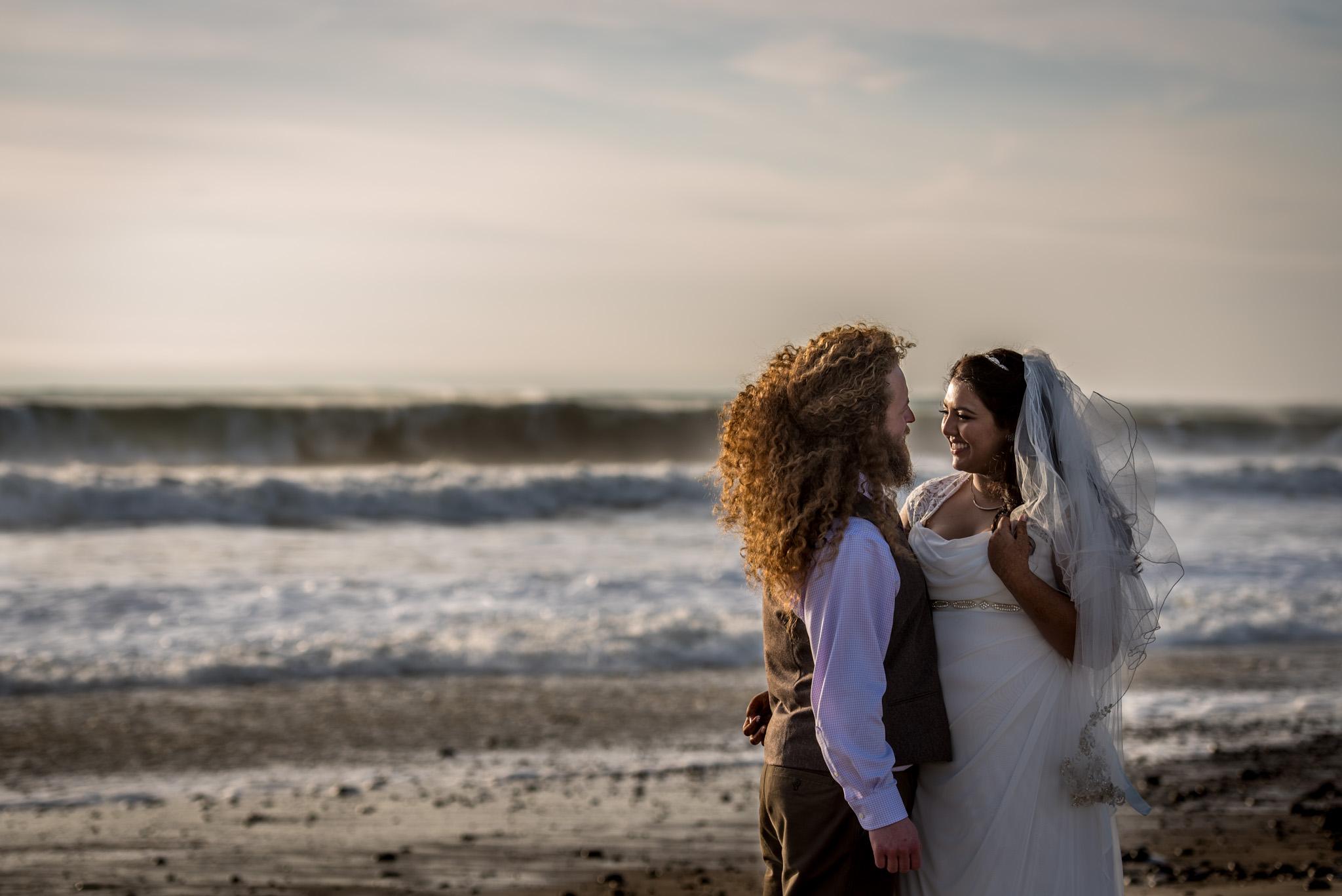 Sunset-couple-Ventura Beach Wedding