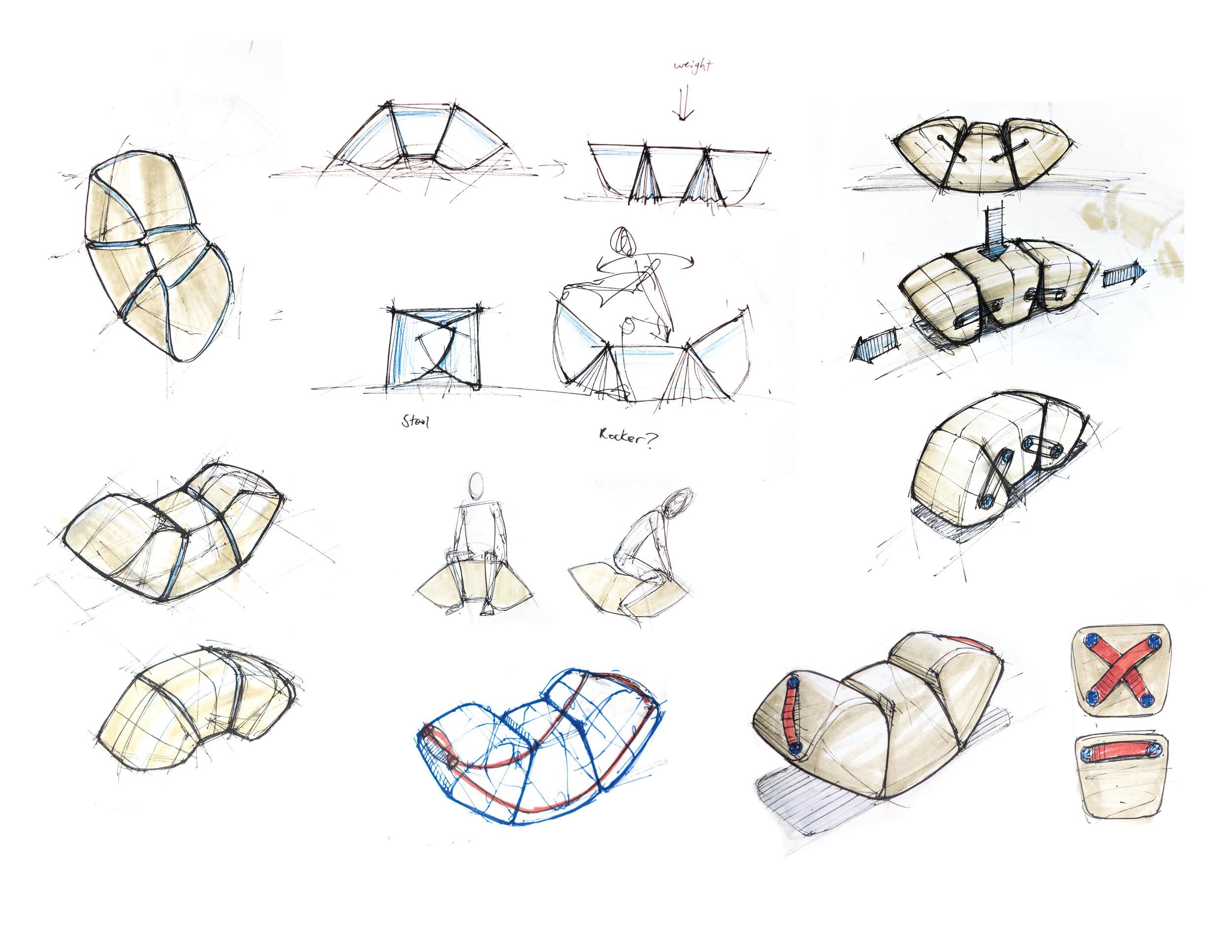 Sketch development