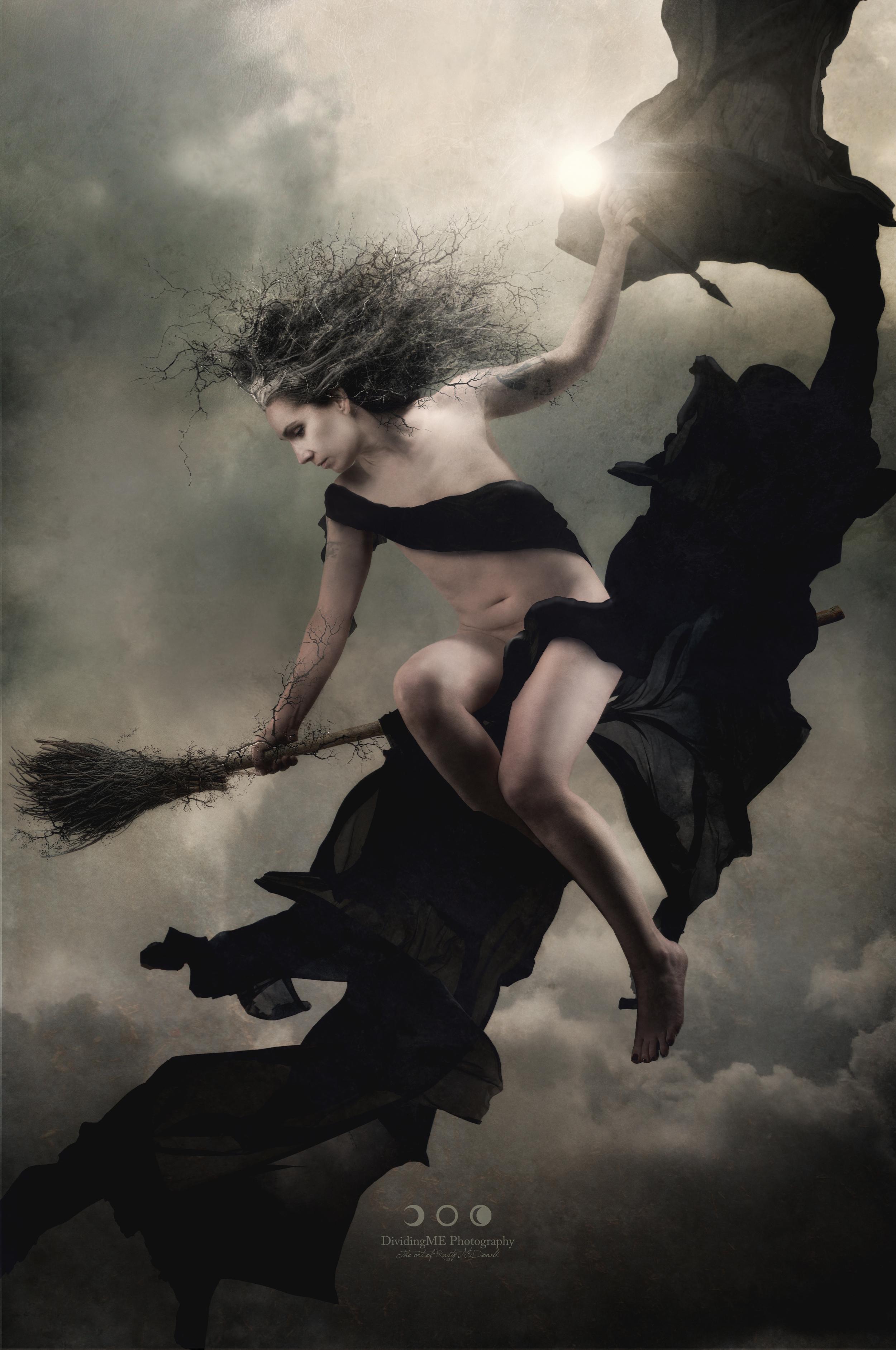"Luis Falero's ""The Witches Sabbath"""