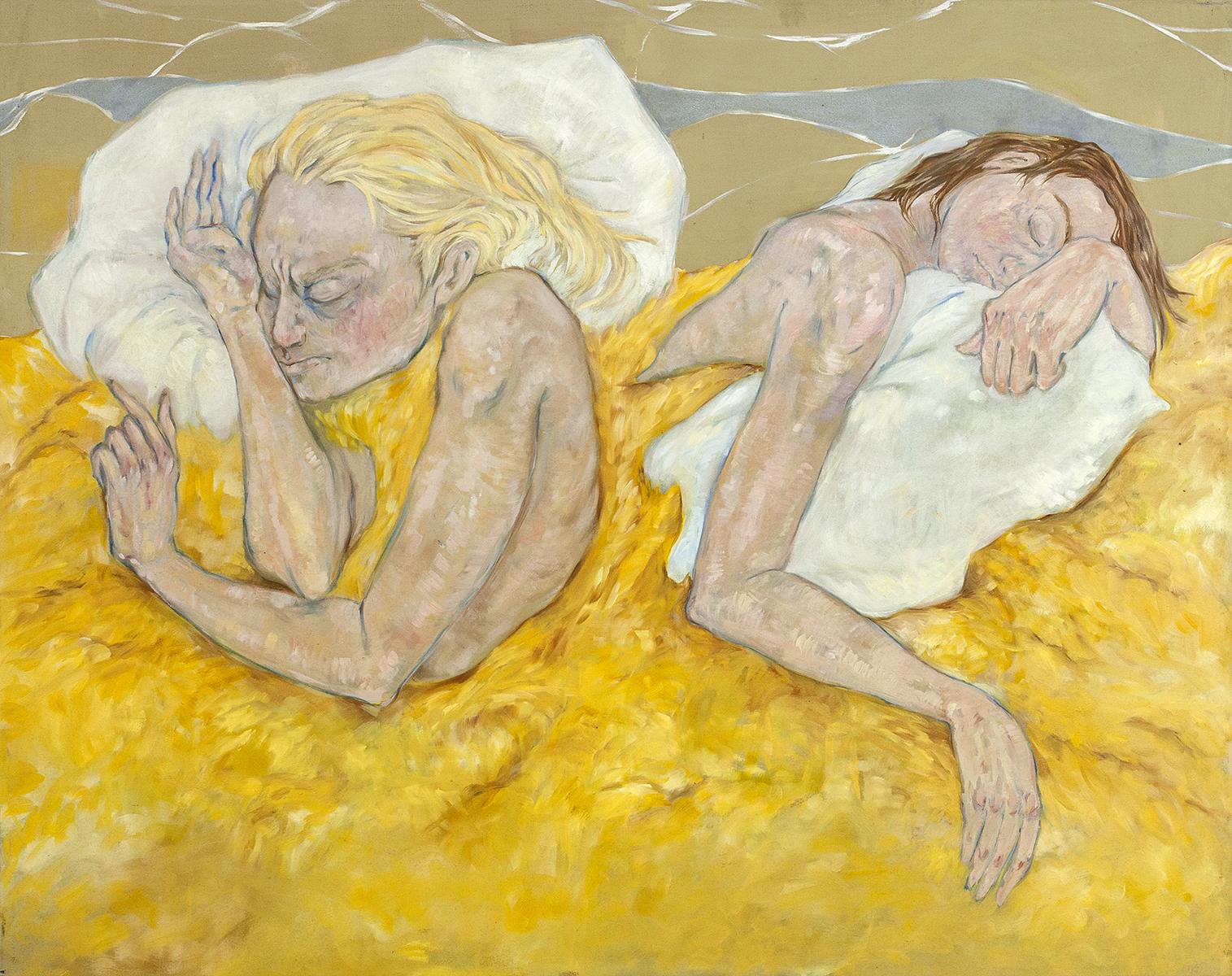 "Celeste Cares - oil on canvas 48"" x 60"""