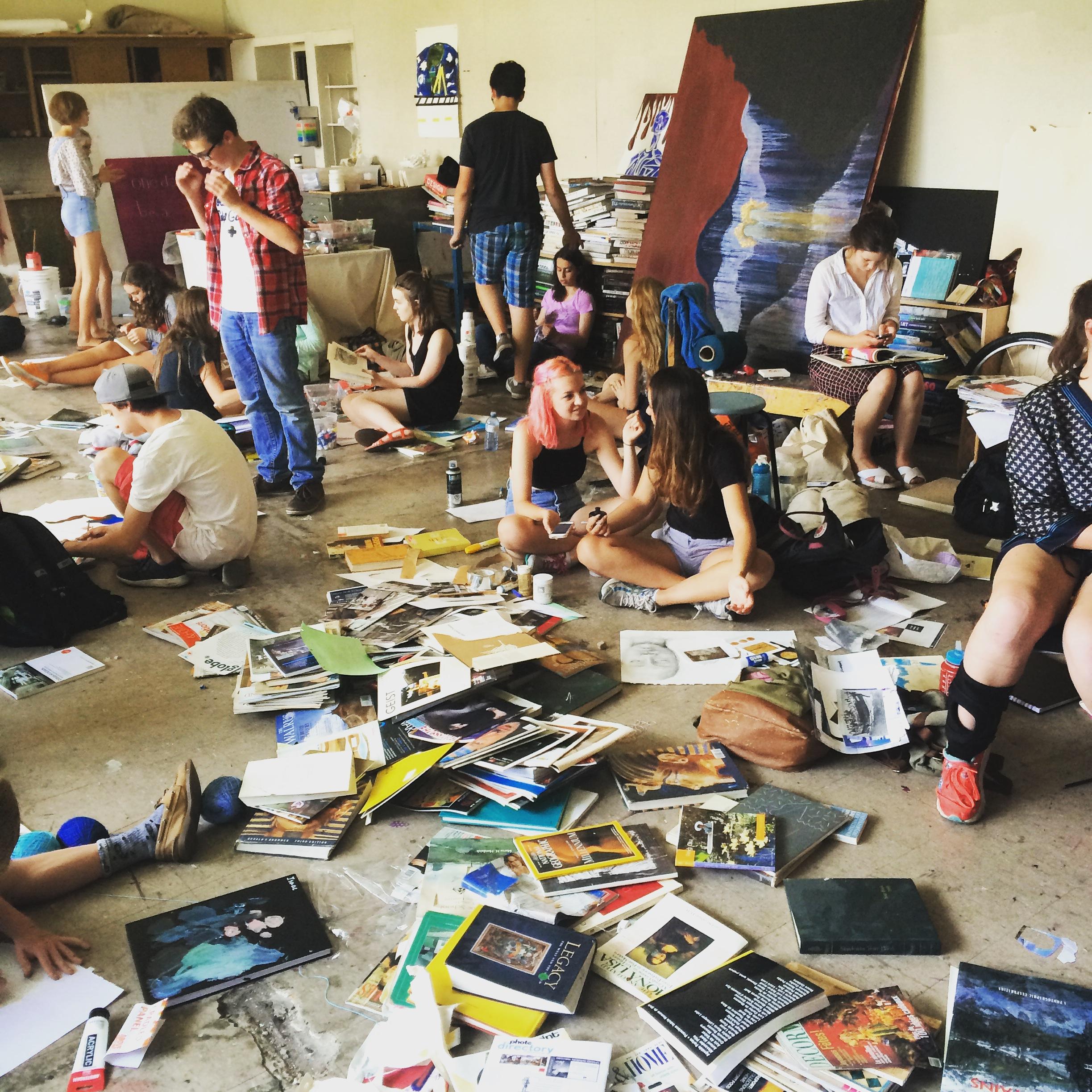 Art Camp at esava - July 2015