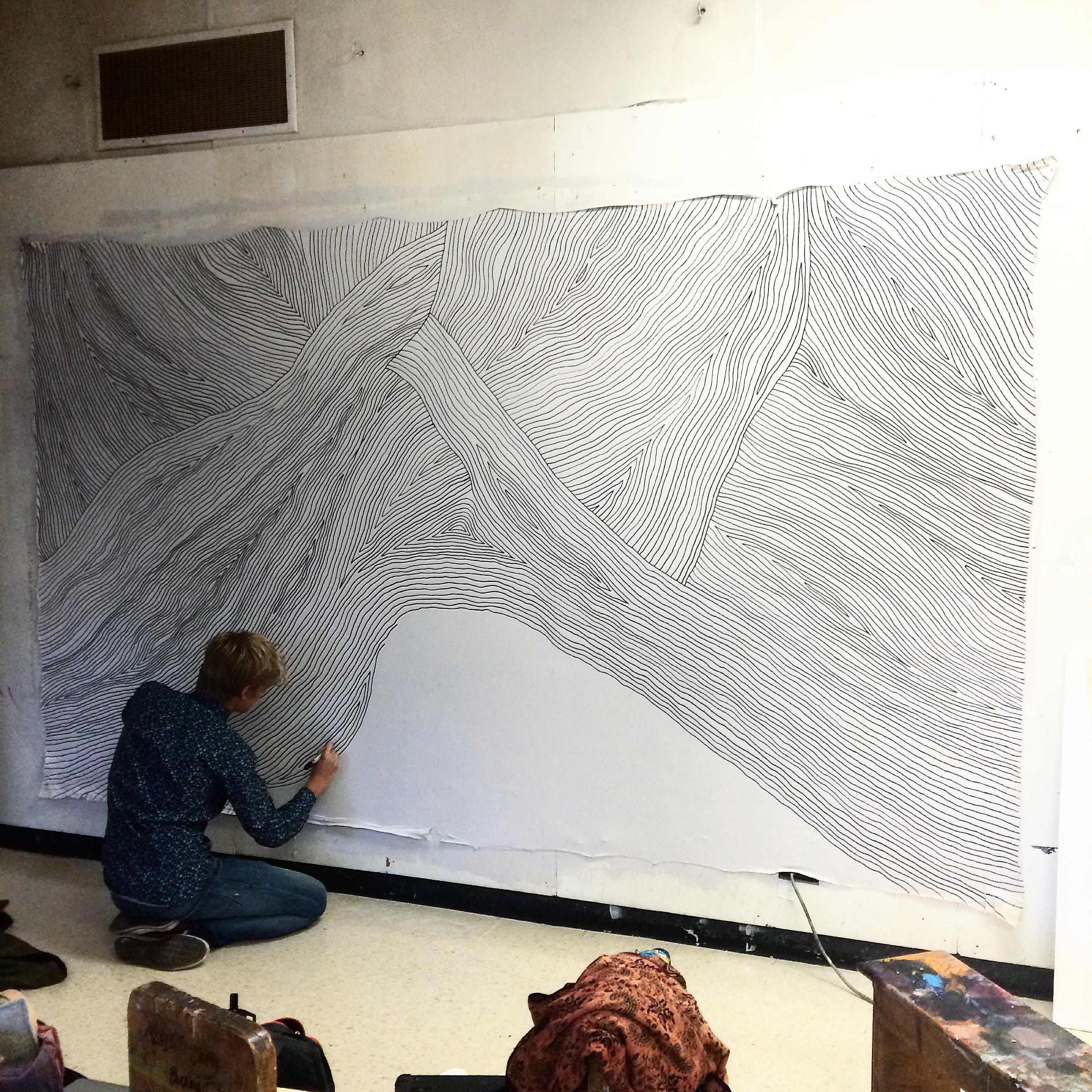 Xander working September 2015
