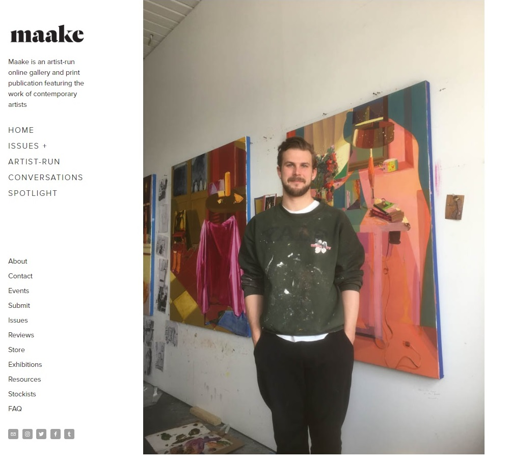 To read the Naake Interview with grad Keiran Brennan Hinton click Here