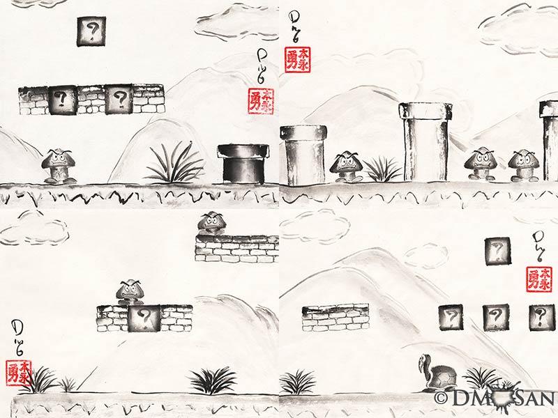 Super Mario Bros. Level 1-1