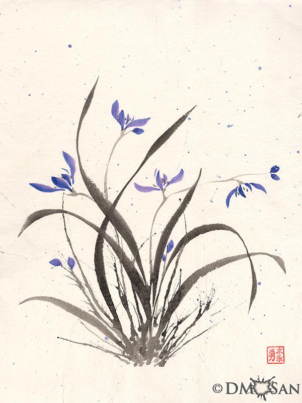 Orchid Splatter