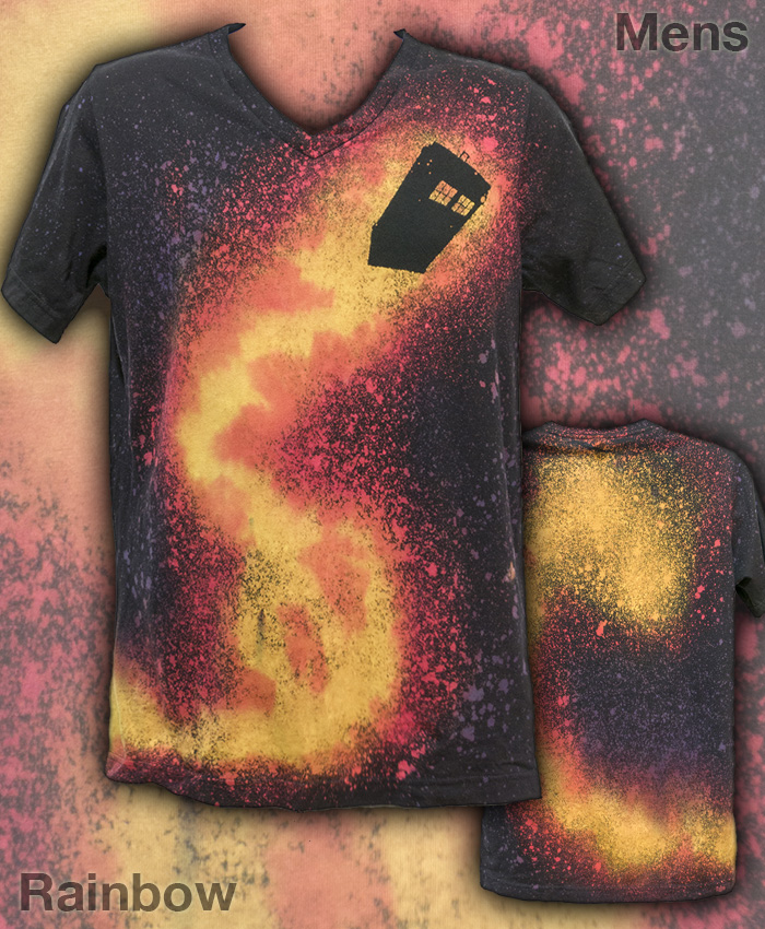 Adventures in Space and Time Custom Mens