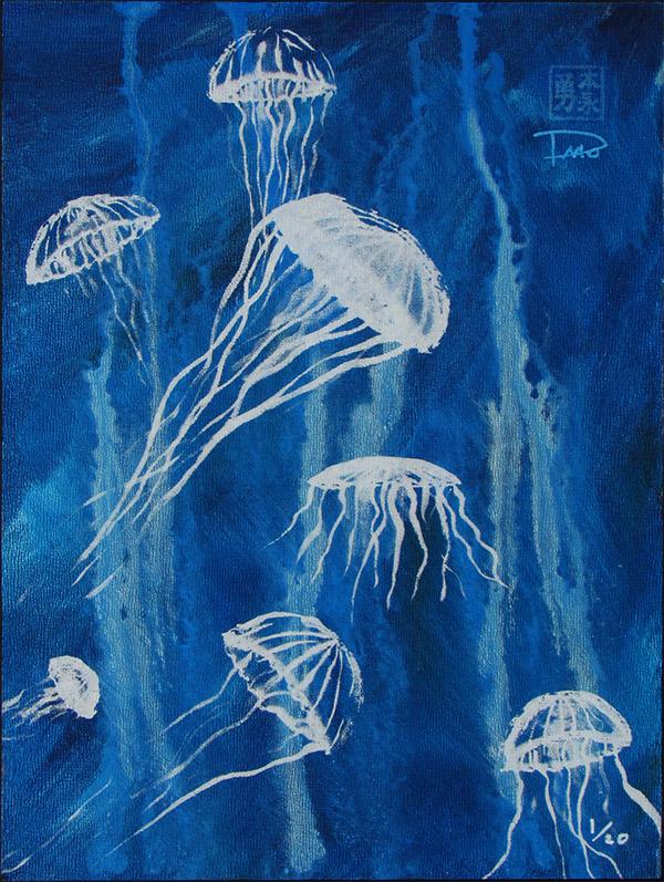 Jellyfish LE run on hardboard