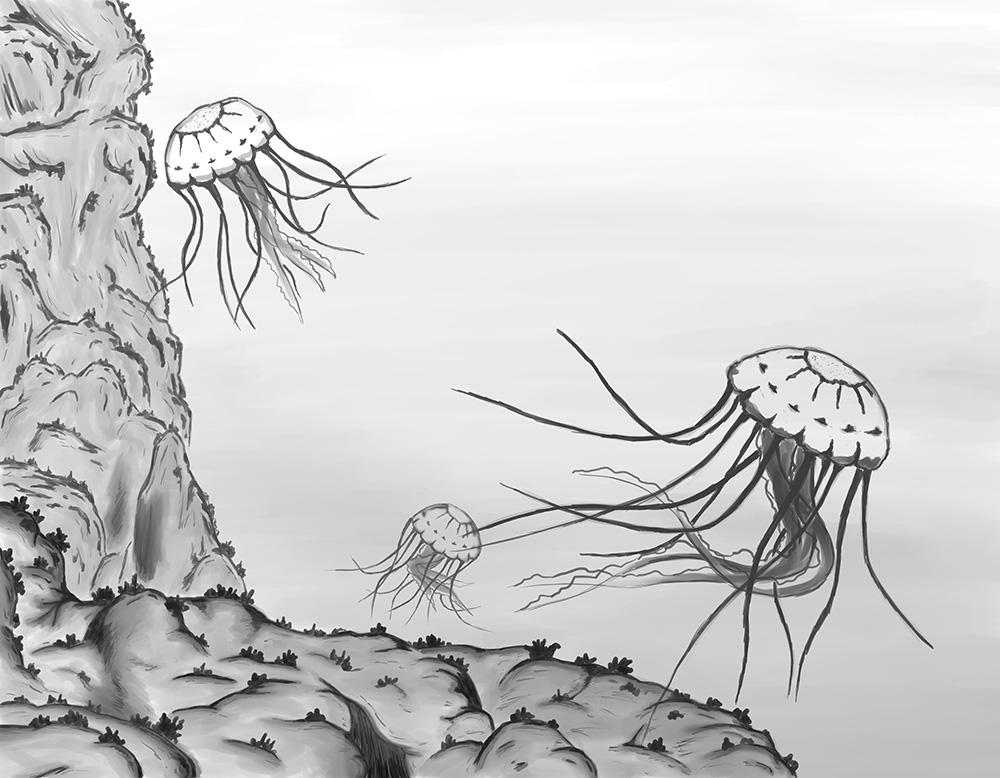 Digital sketch done on the Cintiq Companion 2.