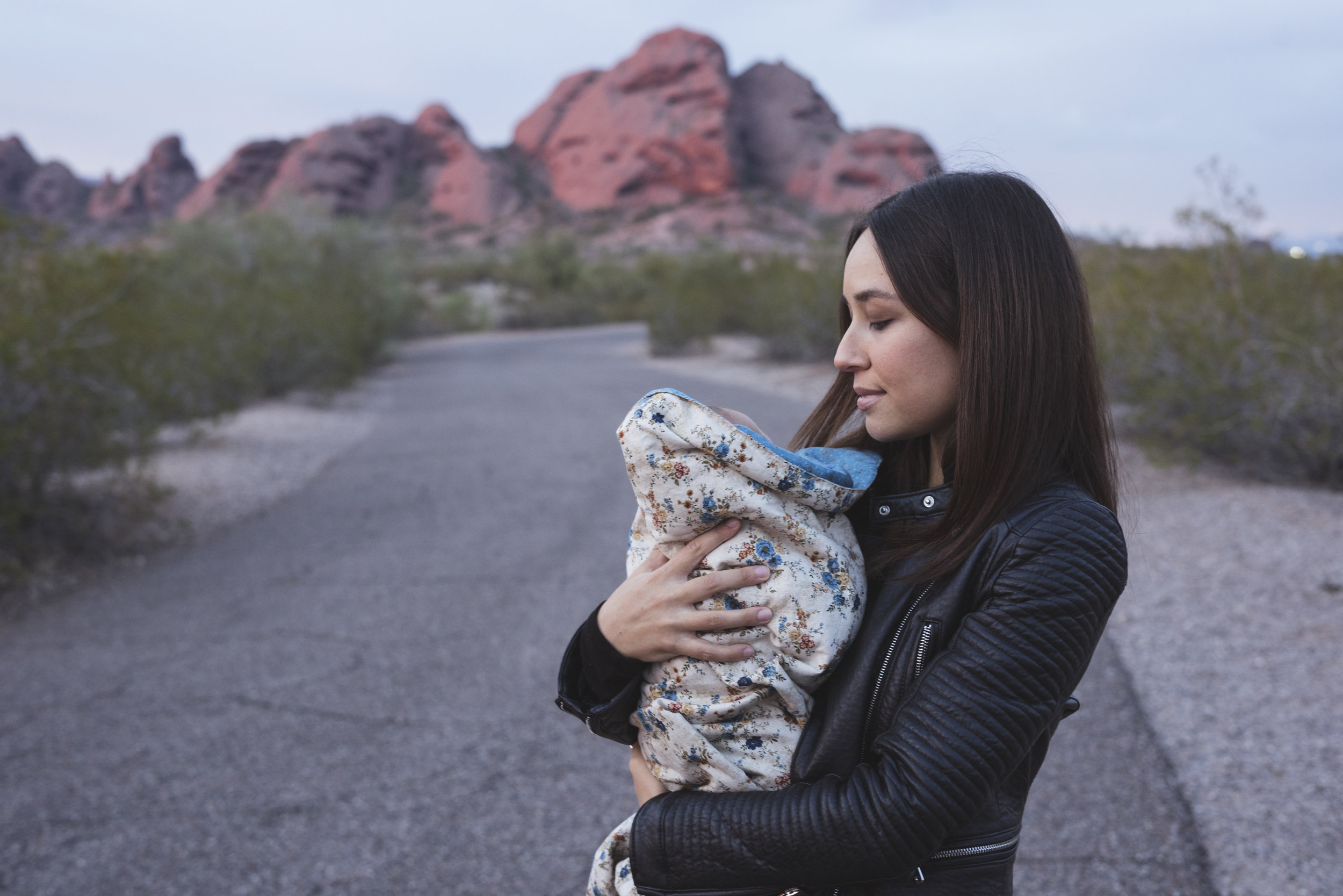 Chelsey and daughter. Photo by Thosh Collins.