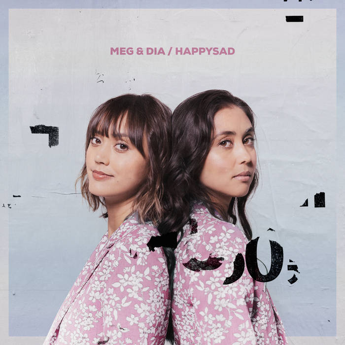 happysad, the new album from Meg & Dia.  Source: Pure Noise Records