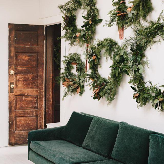 Wreaths, wreaths and more wreaths  Making things cozy #hygge #simplethings  @kellybrownphoto