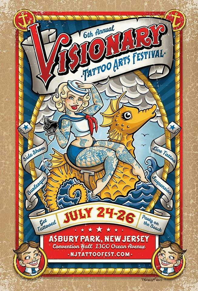 Im going to be tattooing at the Visionary Arts Tattoo Festival in Asbury Park, NJ at the end of July with @carlgracetattoos and other great artists... email me for [serious] inquiries. Aloha! 💛❤💚 #newjersey #donthateonjersey #asburypark #visionaryartstattoofestival #represent808 #hawaiitattoo #femaletattooer