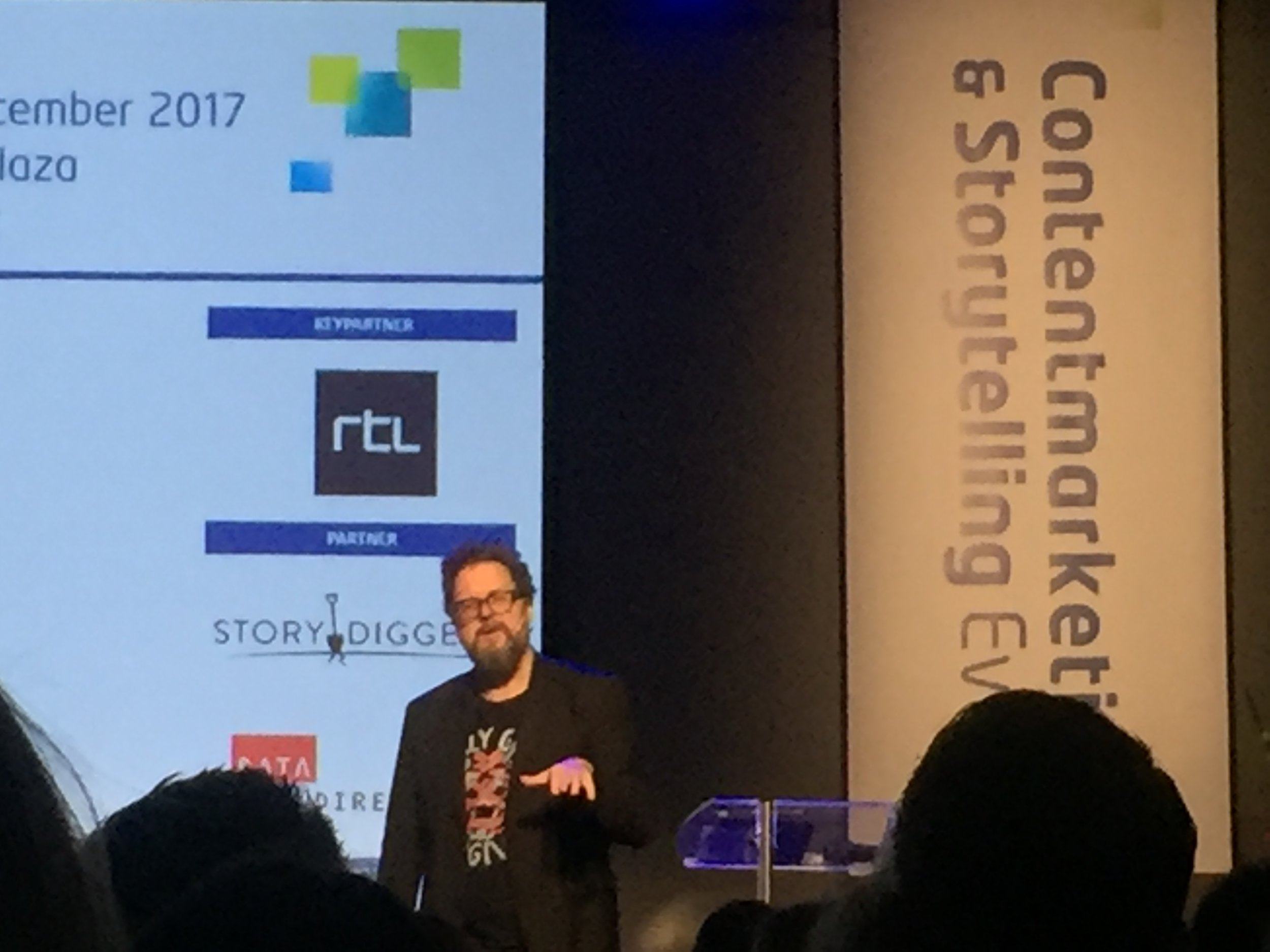 Regisseur Martin Koolhoven op het Content Marketing en Storytelling Event