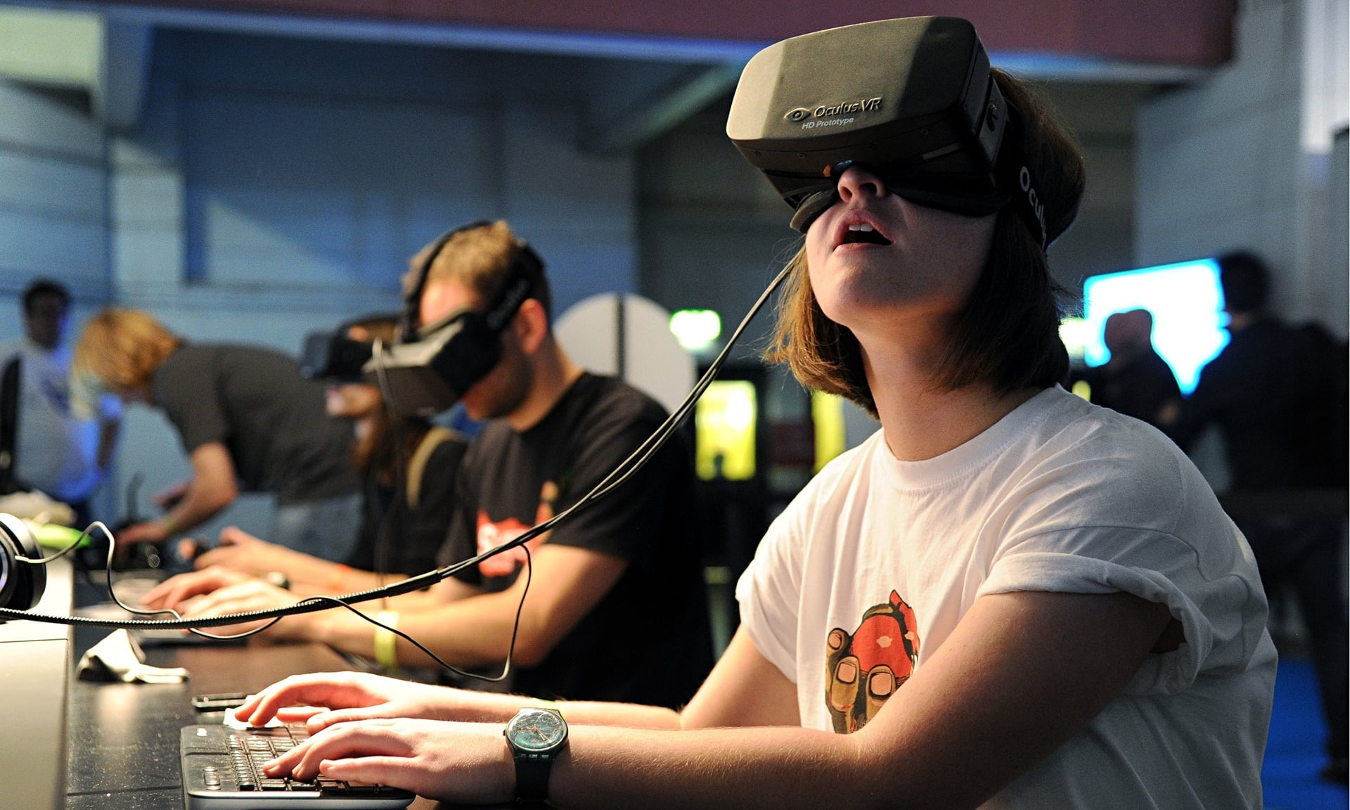 Photograph: Michael Bowles/REX Source: http://www.theguardian.com/technology/2014/mar/31/oculus-rift-facebook-virtual-reality