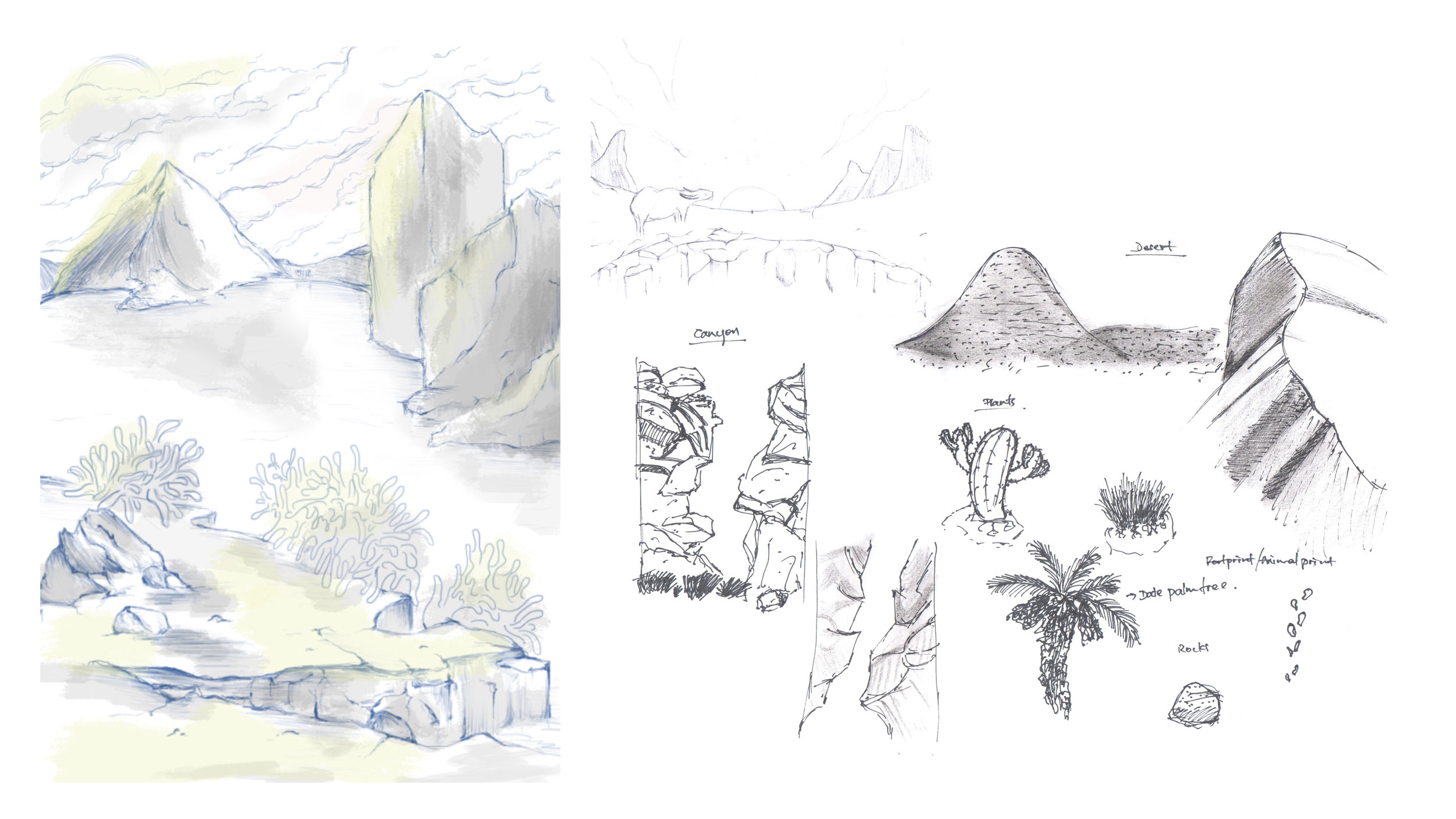 ENVIRONMENTAL SKETCHES