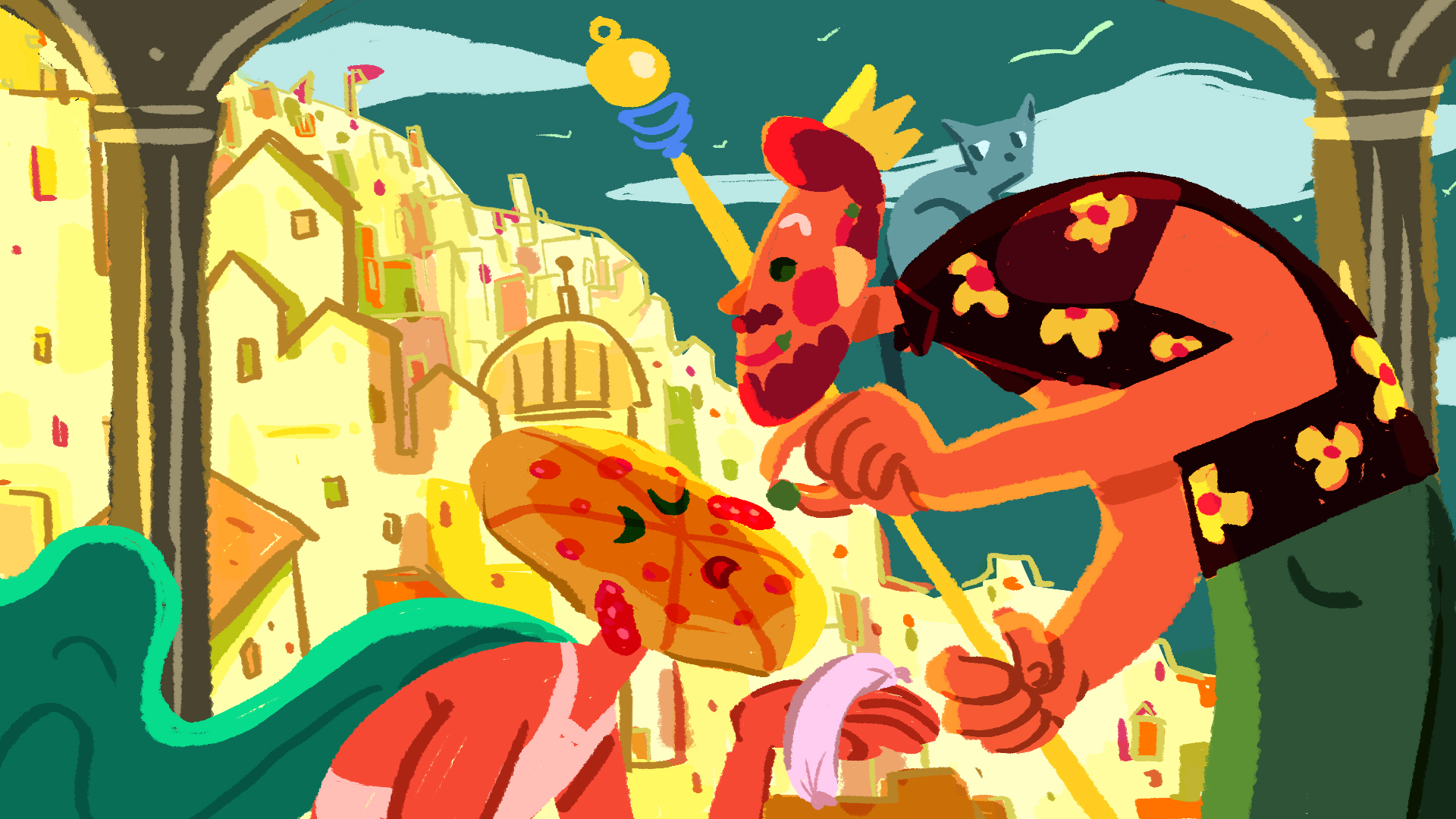 Pizza Day: Rohan's Kingdom