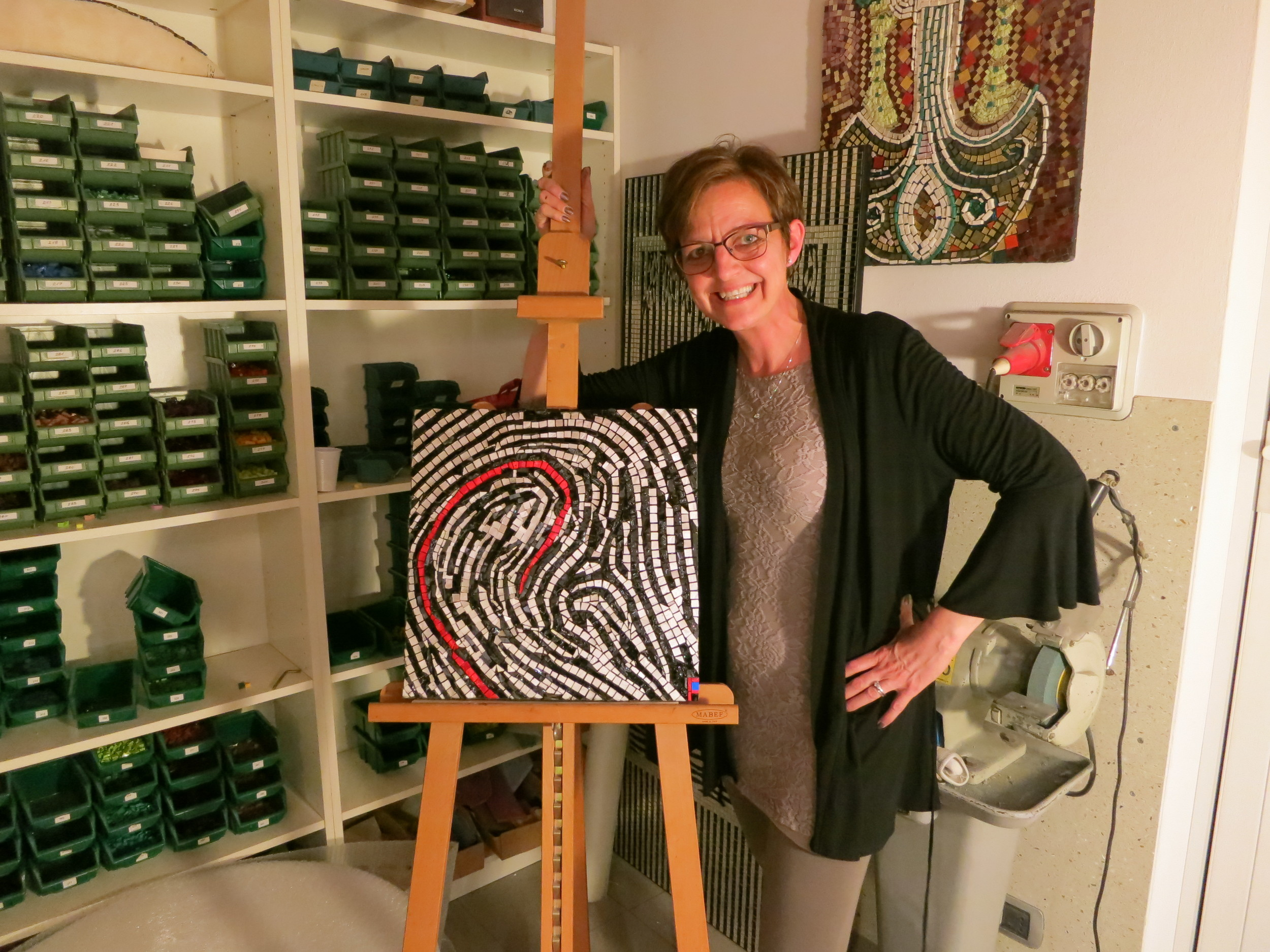 """I received a """"Thumbs Up"""" from the Masters when I completed my piece."""