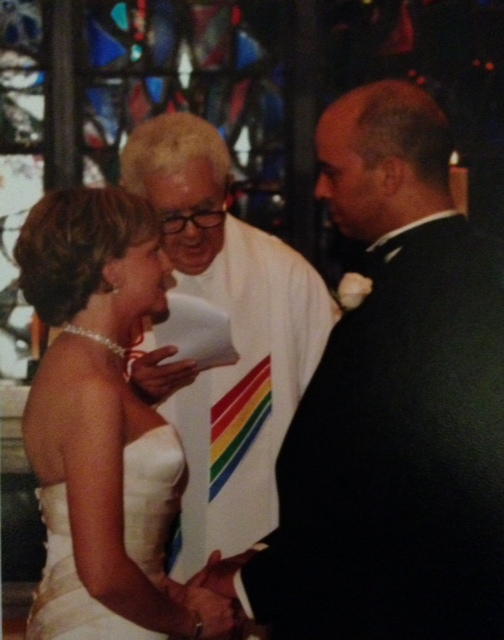 The Rev. Dr. James H. Hargett married us in 2005
