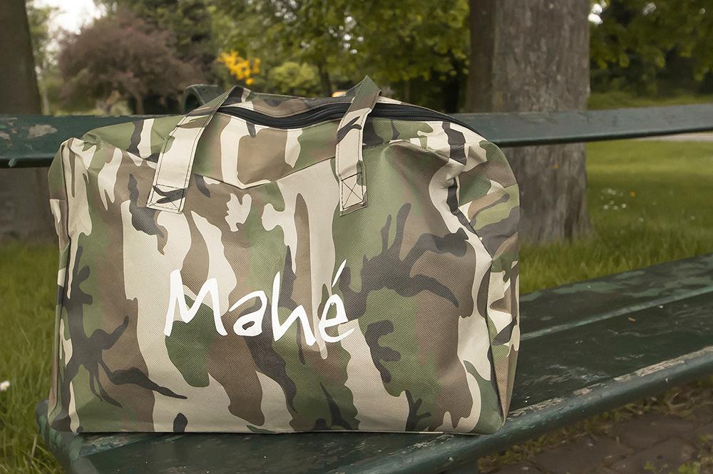 c-bags voor Mahé // single cyclus ecologische draagtassen // PP non woven bedrukte draagtassen - matte laminatie