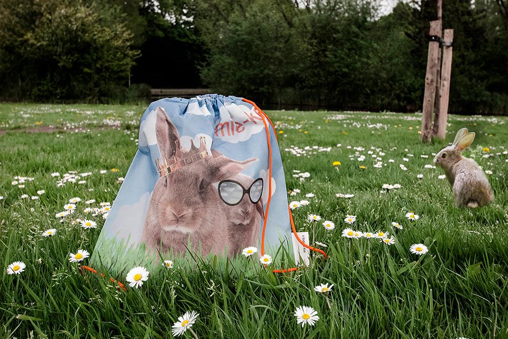 c-bags voor Mie-ke // single cyclus ecologische draagtassen // kinderstroptas // PP non woven bedrukte draagtassen - offset // scherpe prijs!