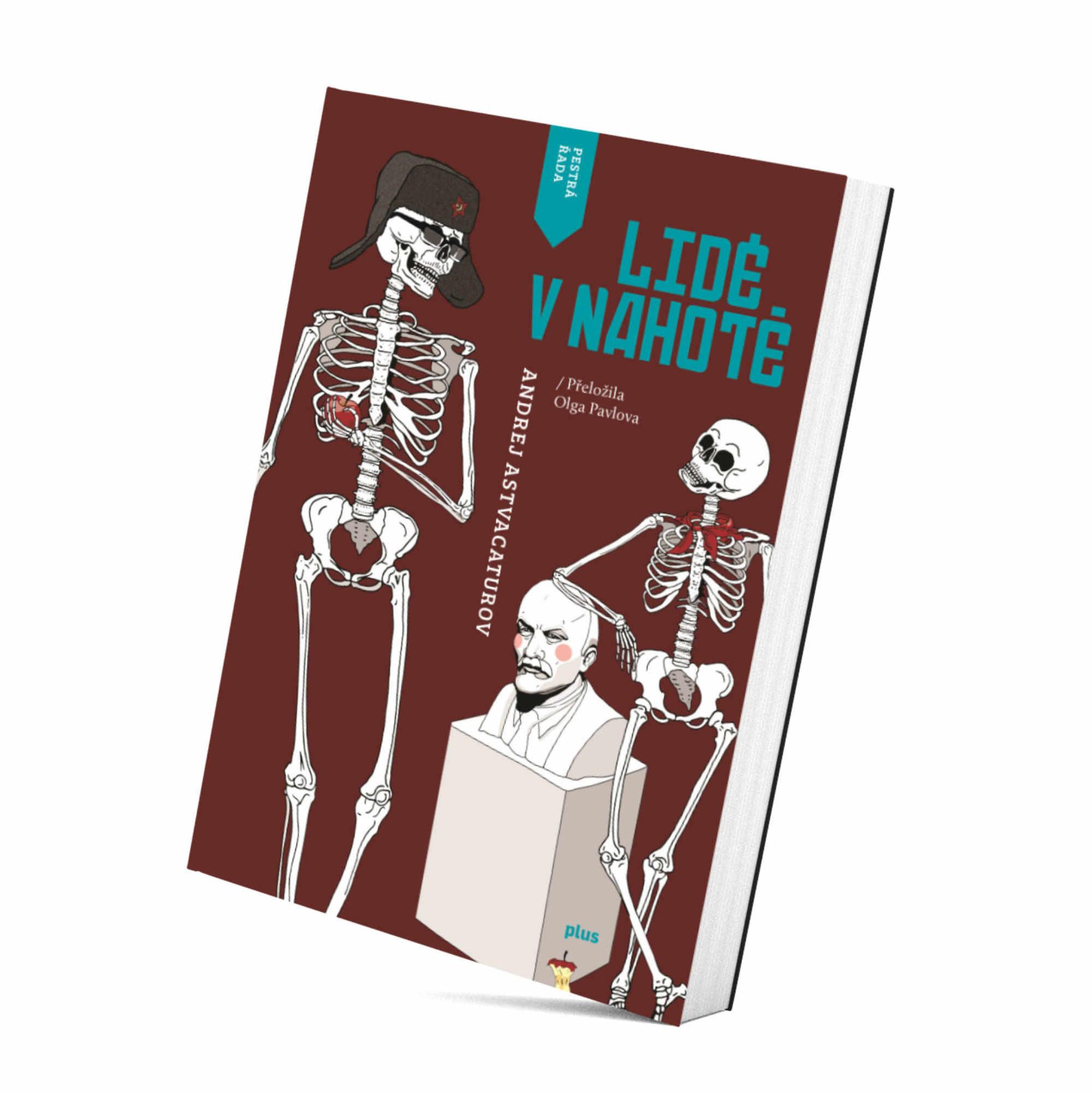 BOOK kniha lide v nahote brunhilda illustration ilustrace