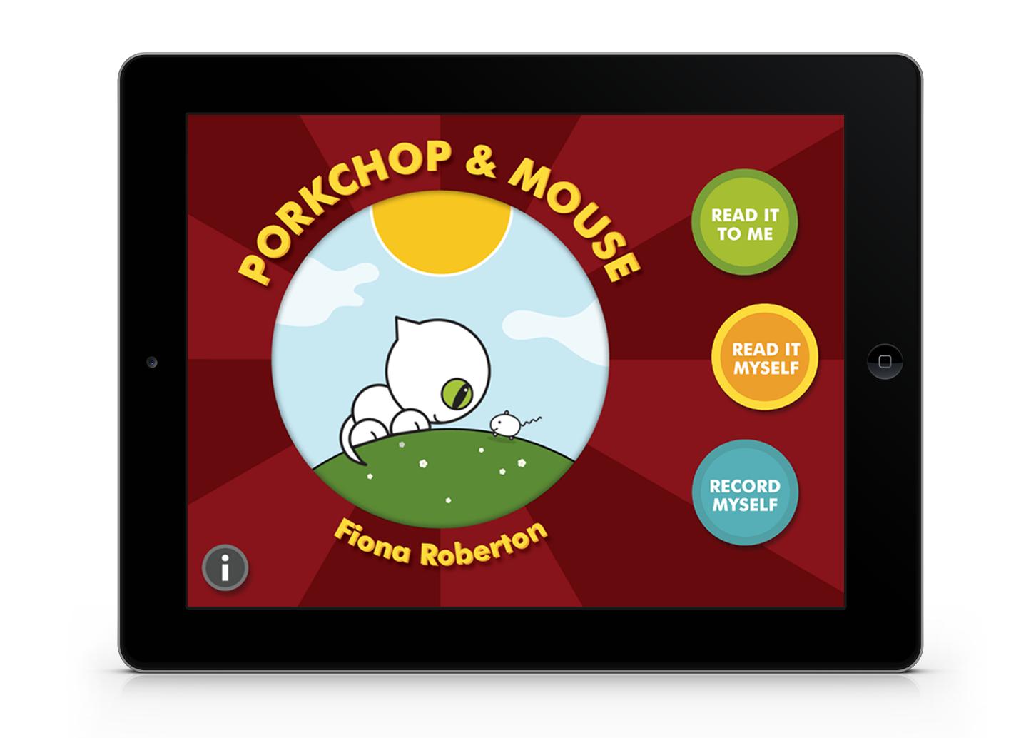 Porkchop & Mouse by Fiona Roberton