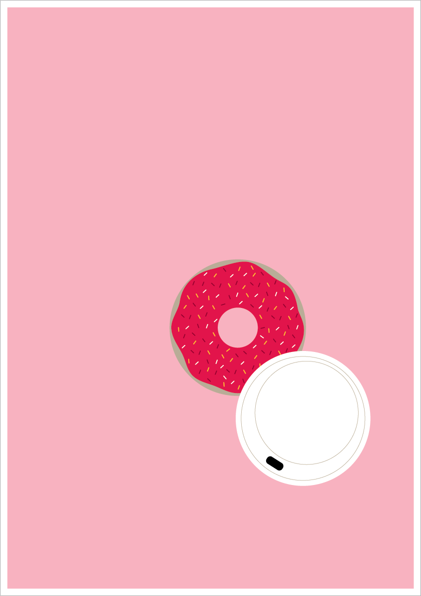 Coffee & Donuts by Fiona Roberton