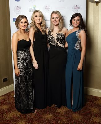 Pictured above are (from left to right) Amy Jackson, Claire Cinnamon, Lauren Kennedy and Katie Reid.