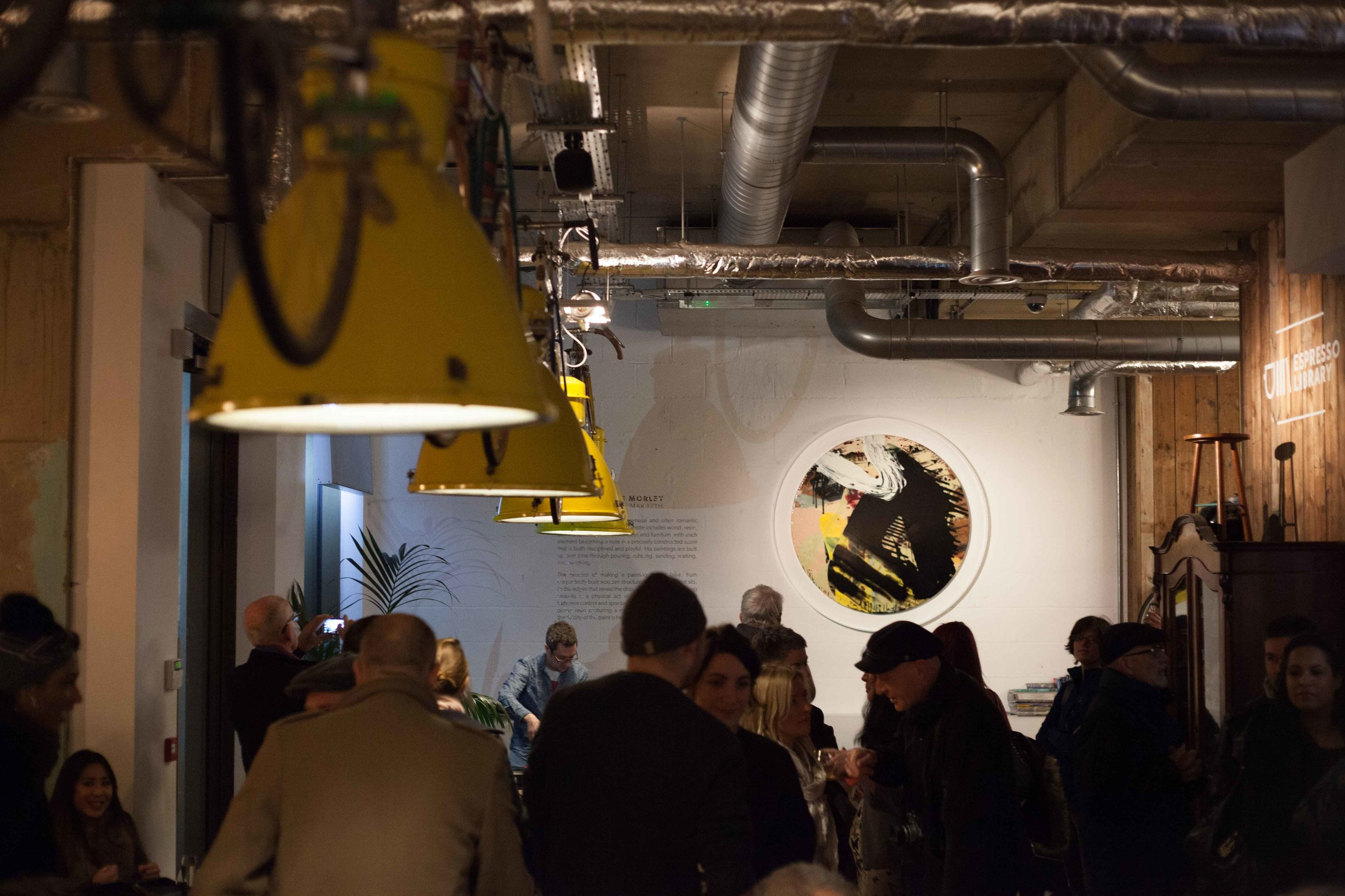 art gallery - Check out what's on show & read more about our past exhibitions.