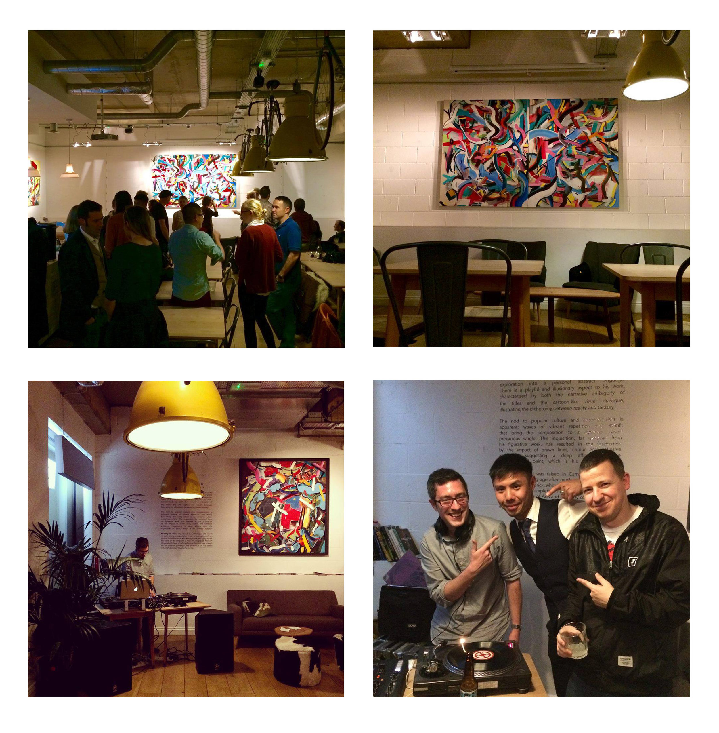 a few pictures from the private view - By Pina from One2CulinaryStew.