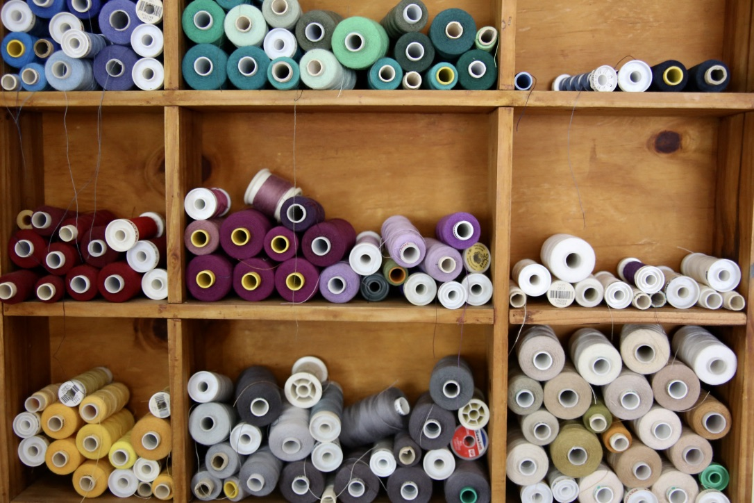 Oumie's cotton collection for all her sewing