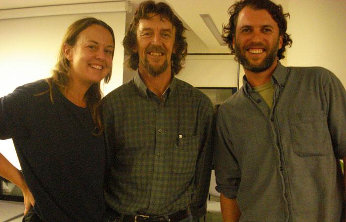 Karen & Ryan con Geoff Lawton