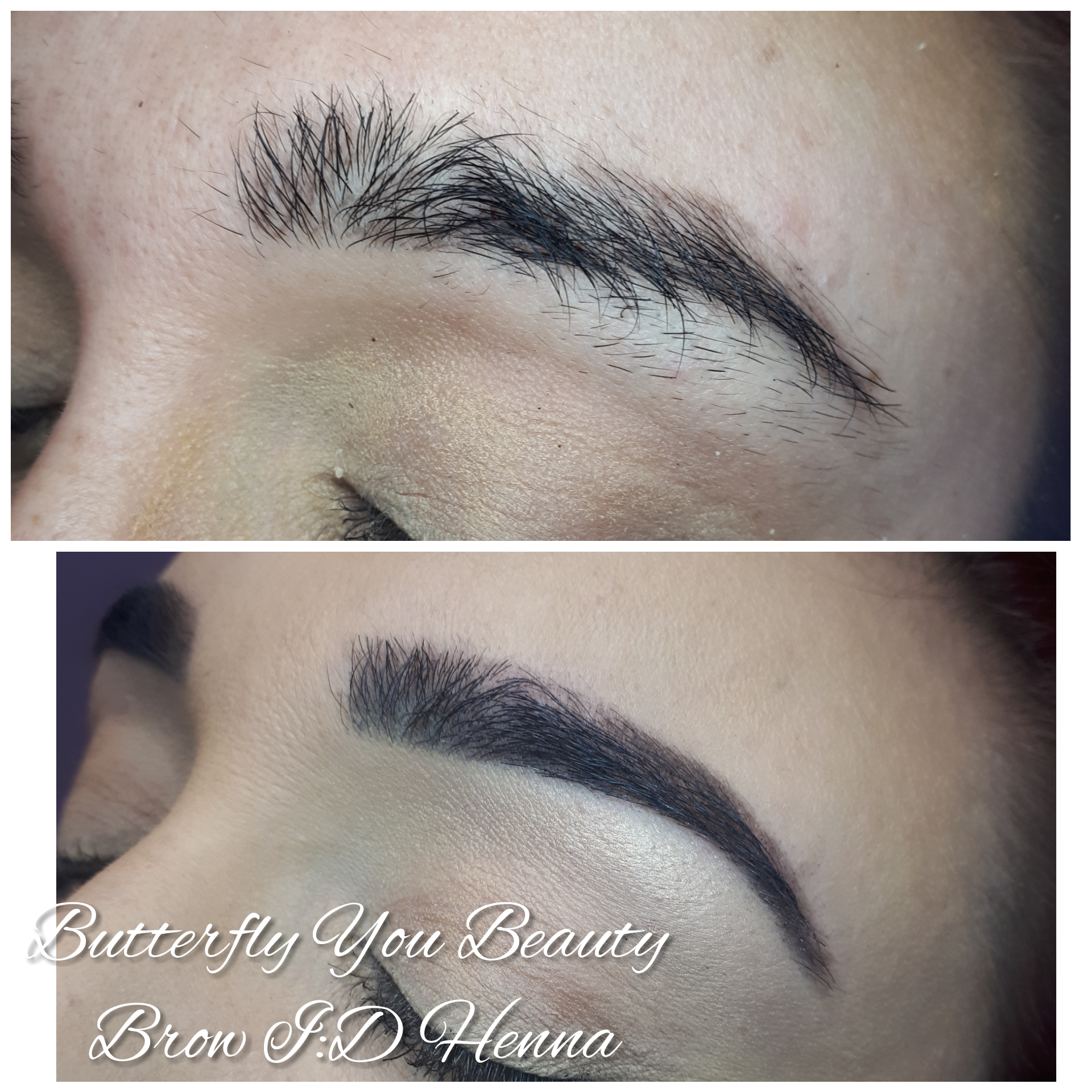 Some Amazing examples of work from one of our Brow:ID technicians.