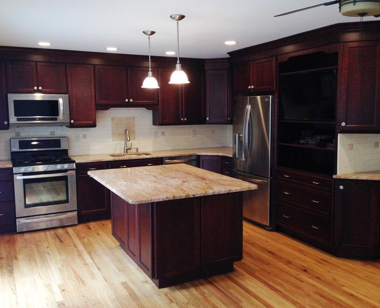 Hopewell Kitchen Renovation Pendant Lighting Stainless Appliances optimized.jpg